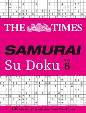 The Times Samurai Su Doku 6: 100 challenging puzzles from The Times Su Doku