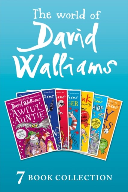 (ebook) The World of David Walliams: 7 Book Collection (The Boy in the Dress, Mr Stink, Billionaire Boy, Gangsta Granny, Ratburger, Demon Dentist, Awful Auntie)