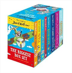 The World Of David Walliams: The Biggest Box Set [8 Box Set]
