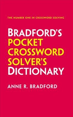 Collins Bradford's Pocket Crossword Solver's Dictionary: Over 125,000 Solutions In An A-Z Format [Third Edition]