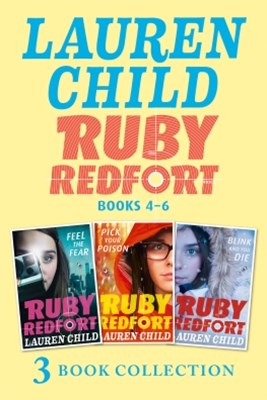 (ebook) The Ruby Redfort Collection: 4-6: Feed the Fear; Pick Your Poison; Blink and You Die (Ruby Redfort)