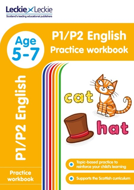 P1/P2 English Practice Workbook