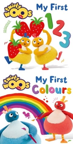 (ebook) My First 123 & My First Colours (Twirlywoos)