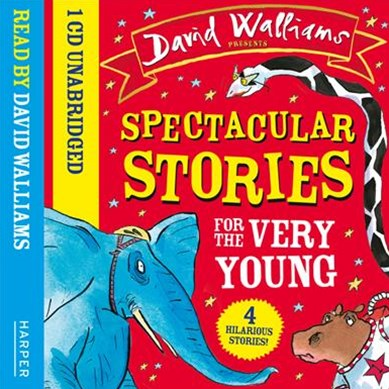 Spectacular Stories For The Very Young CD: Four Hilarious Stories!