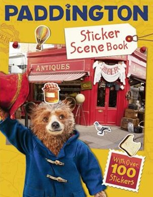 Paddington 2 Paddingtons World Sticker Scene Book