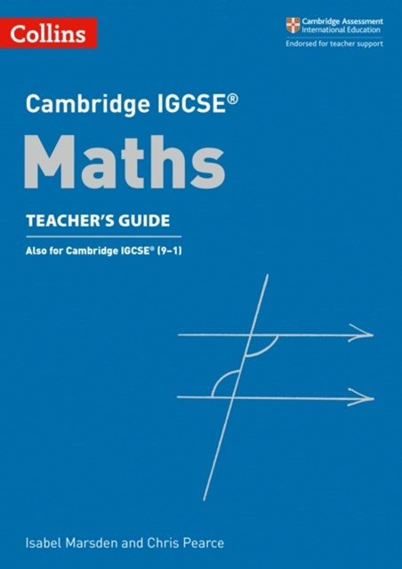 Cambridge IGCSE Maths Teacher Guide