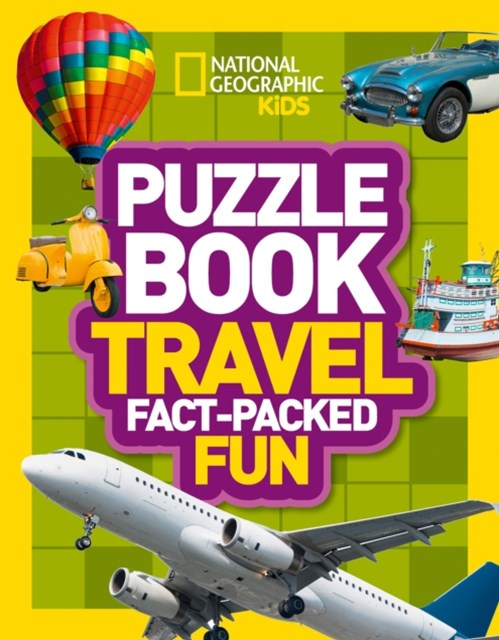 National Geographic Kids Puzzle Books - Transport