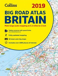 2019 Collins Big Road Atlas Britain [New Edition] by Collins Maps (9780008272685) - PaperBack - Reference