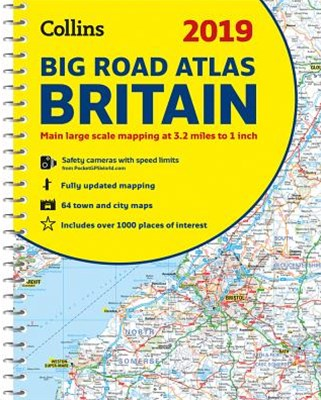 2019 Collins Big Road Atlas Britain [New Edition]