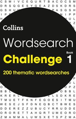 Wordsearch Challenge Book 1: 200 Puzzles