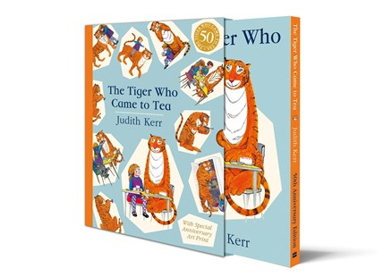The Tiger Who Came To Tea [50th Anniversary Edition] by Judith Kerr (9780008280598) - HardCover - Picture Books