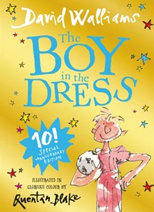 The Boy in the Dress - Anniversary Edition by David Walliams (9780008288341) - HardCover - Children's Fiction Older Readers (8-10)