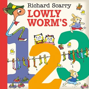 Lowly Worm's 123 - Non-Fiction Early Learning