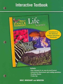 Holt Science and Technology Life Science Interactive Textbook