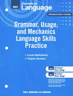 Elements of Language, Introductory Course