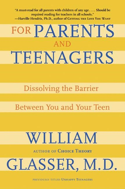 For Parents and Teenagers Understanding the barrier between you and yourteen