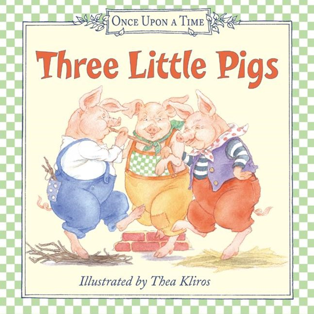 Three Little Pigs Board Book