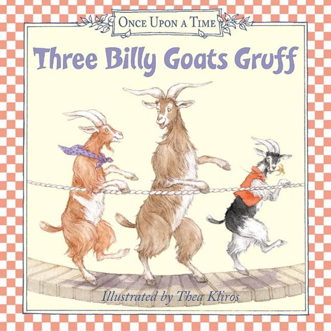 Three Billy Goats Gruff Board Book