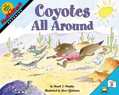Coyotes All Around by Steve Bjorkman, Stuart J. Murphy, Steve Björkman (9780060515317) - PaperBack - Children's Fiction Early Readers (0-4)