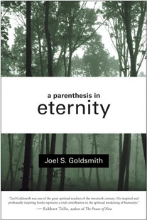 A Parenthesis in Eternity by Joel S Goldsmith (9780060632311) - PaperBack - Religion & Spirituality Spirituality