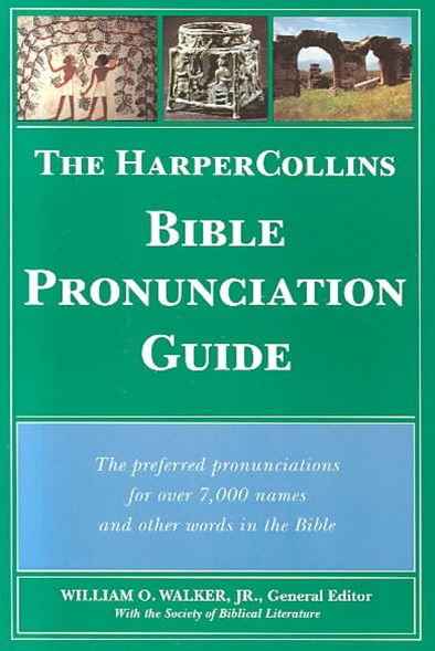 Bible Pronunciation Guide