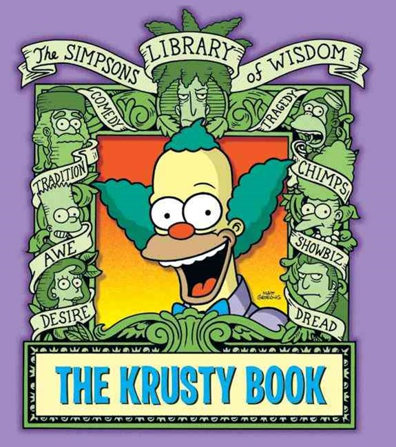 Krusty: Simpsons Library Of Wisdom