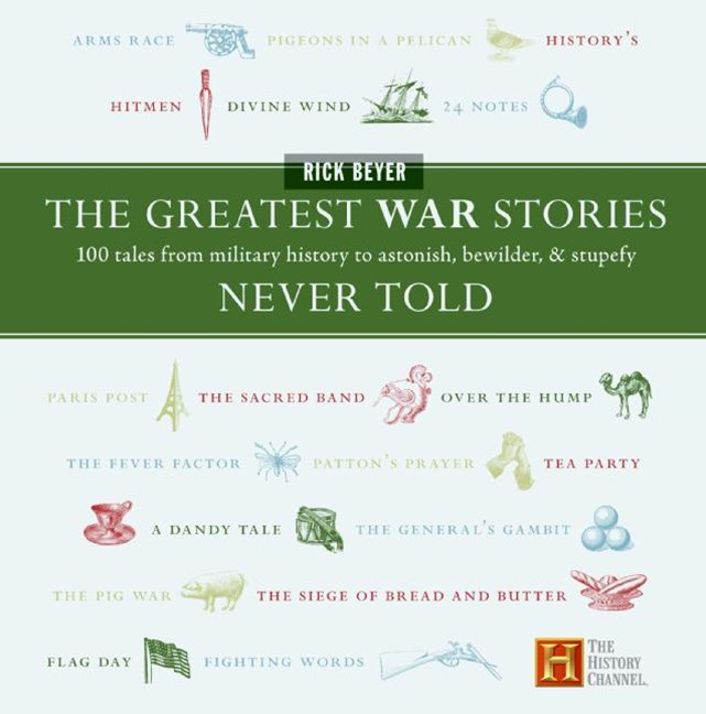 The Greatest War Stories Never Told: 100 Tales From Military History To Astonish, Bewilder And Stupefy