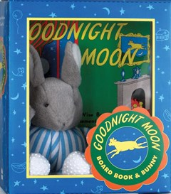 Goodnight Moon Board Book and Bunny