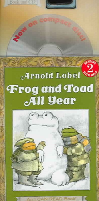 Frog and Toad All Year Around Book and CD