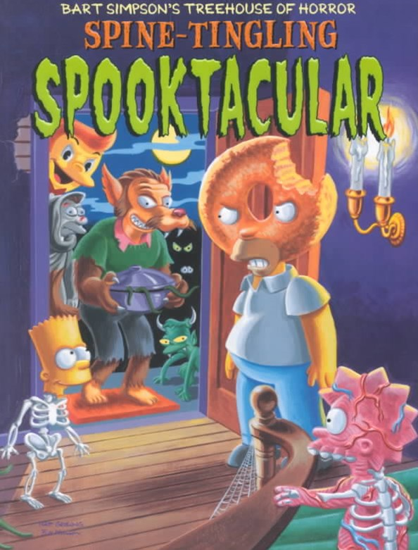 Bart Simpson's Treehouse of Horror Spine-Tingling Spooktacular