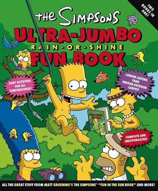 Simpsons Ultra Jumbo Rain Or Shine