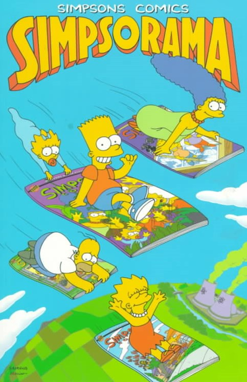 Simpsons Comics Simpsorama