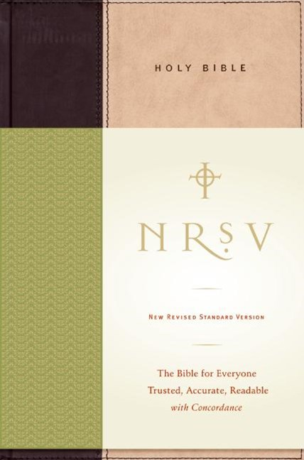 New Revised Standard Version Holy Bible No Apocrypha