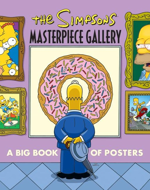 Simpsons Masterpiece Gallery: A Big Book of Posters