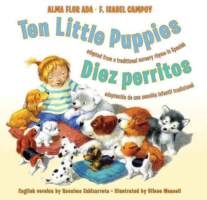 Ten Little Puppies/Diez perritos