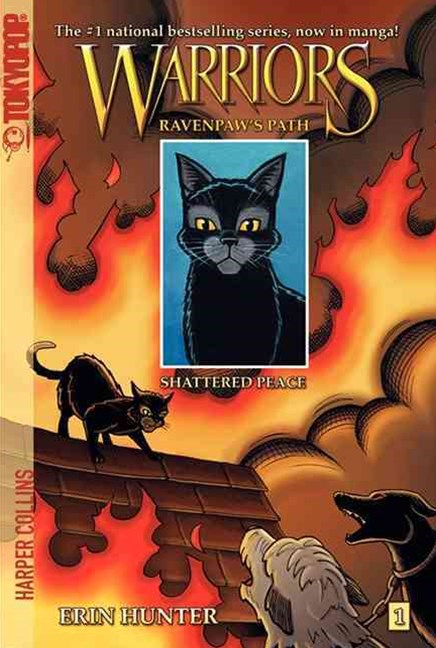 Warriors: Ravenpaw's Path #1: Shattered Peace [Manga]