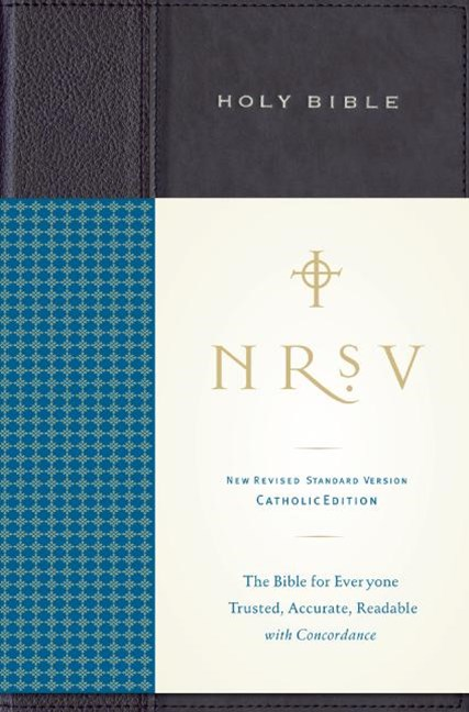 NRSV Standard Bible Catholic Ed Anglicized (navy/blue)
