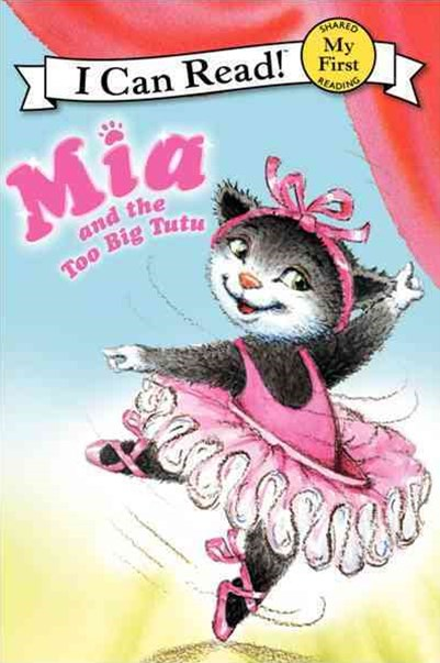 Pink Slippers: Mia and the Too Big Tutu