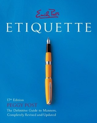 (ebook) Emily Post's Etiquette 17th Edition