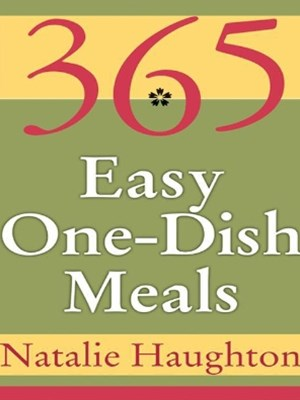 (ebook) 365 Easy One Dish Meals