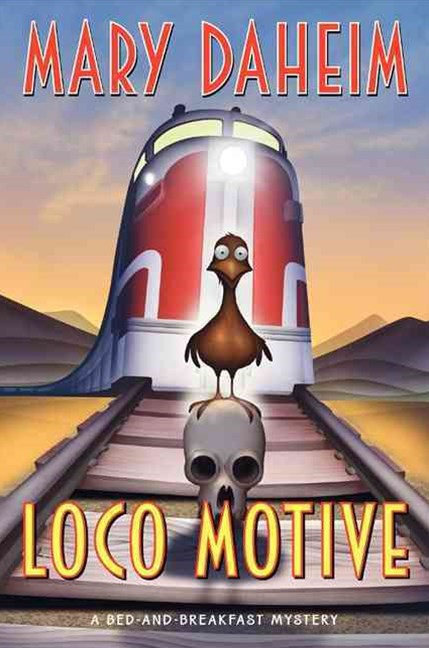 Loco Motive: A Bed-and-Breakfast Mystery Large Print