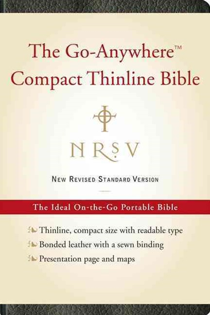NRSV Go-Anywhere Compact Thinline Bible