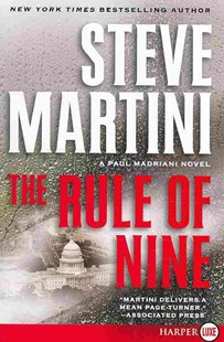 The Rule of Nine by Steve Martini (9780061979286) - PaperBack - Adventure Fiction Modern