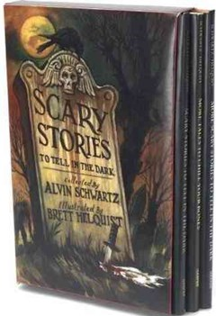 Scary Stories Box Set, includes Scary Stories 1, More Scary Stories and Scary Stories 3