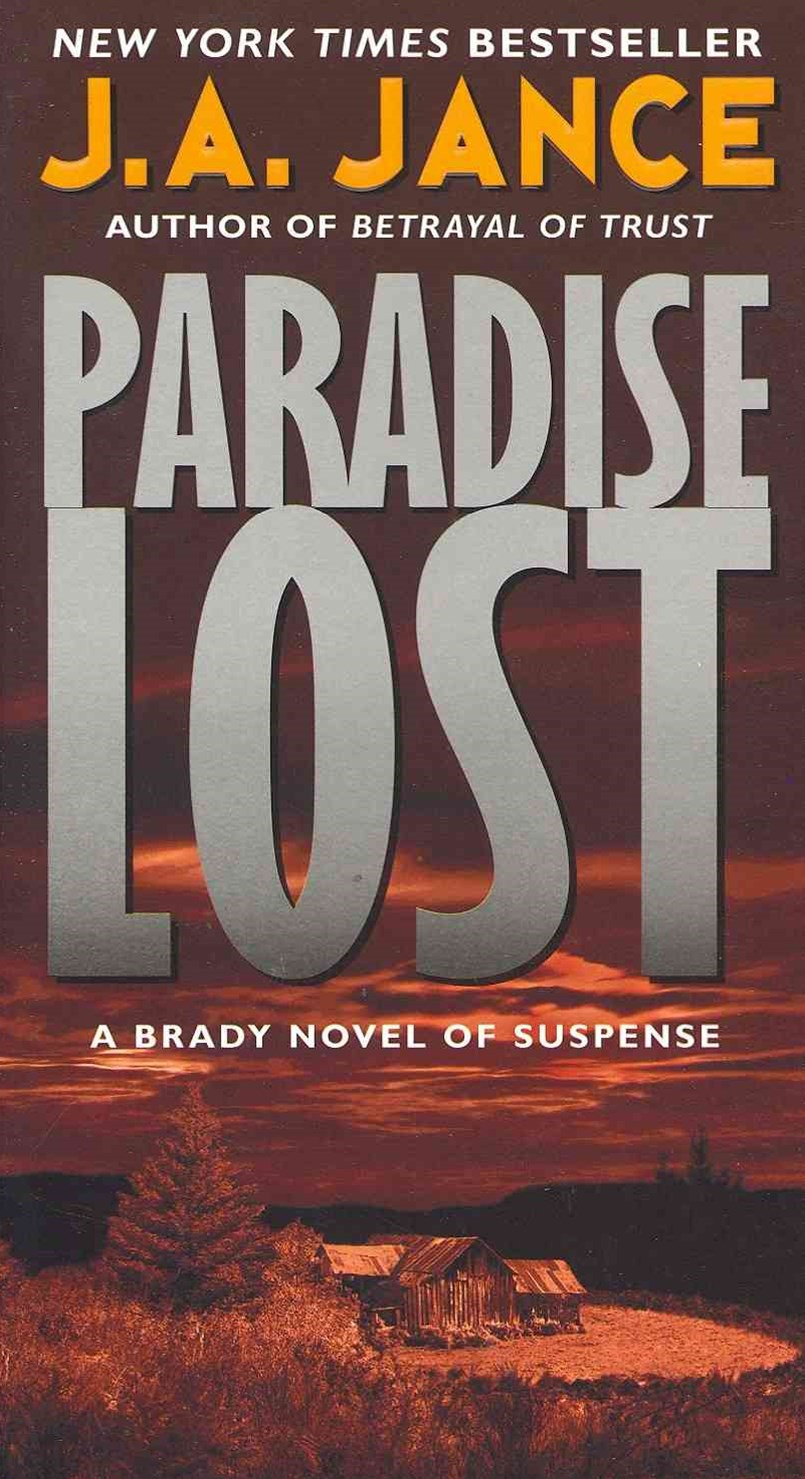 Paradise Lost: A Brady Novel of Suspense
