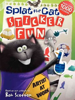 Splat the Cat: Sticker Fun