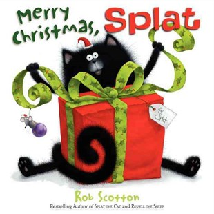 Merry Christmas, Splat by Rob Scotton (9780062124500) - HardCover - Children's Fiction Intermediate (5-7)