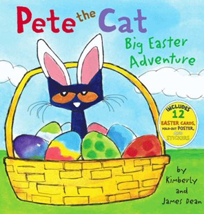 Pete The Cat: Big Easter Adventure by James Dean, Kimberly Dean (9780062198679) - HardCover - Children's Fiction Intermediate (5-7)