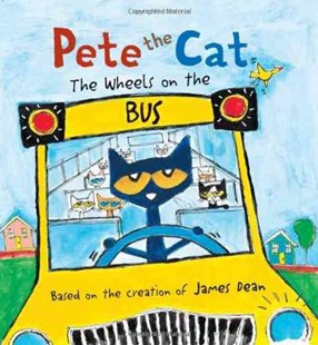 Pete the Cat: The Wheels on the Bus by James Dean (9780062198716) - HardCover - Non-Fiction Animals