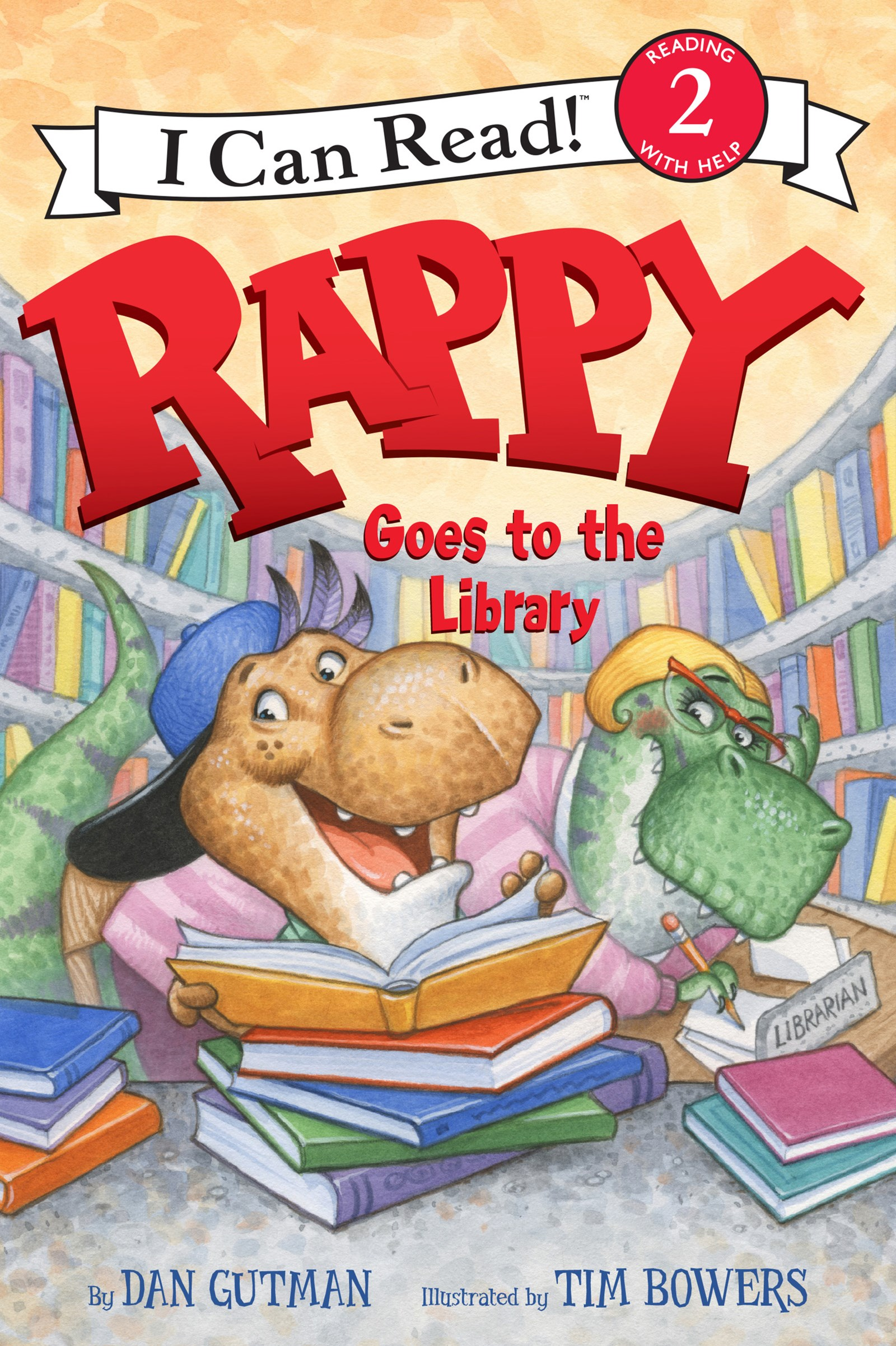 Rappy Goes To The Library